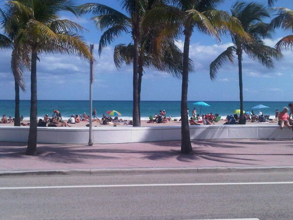 Fort Lauderdale beach, Thanksgiving 2010